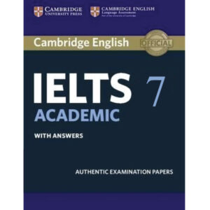 Cambridge IELTS Volume 7 Academic (Audio Link Free After Purchase The Book) News Print