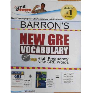Barron's New Gre Vocabulary 333 High Frequency Words (Paperback) by GRE Center (Grec Bangladesh)