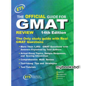 Review of GRE Official Guide 14th Edition by ETS
