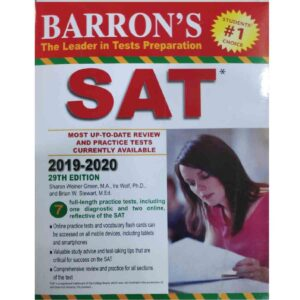 Barron's SAT, New Edition: with Bonus Online Tests (Barron's Test Prep)