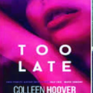 too late by collen hoover