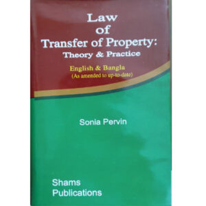 Transfer of Property-Sonia Akhter