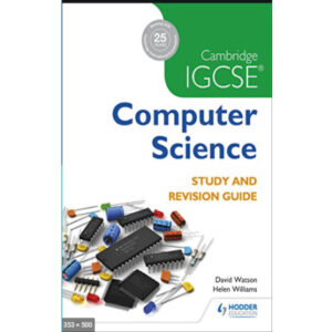 cambridge igcse comuter science and revision guide by david watson (black and white)