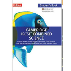 collins cambridge igcse combined science student book by malcolm bradley (color)