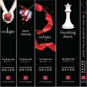 1 set of The Twilight Saga Complete Collection