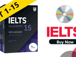 IELTS FULL SET 1-15 GENERAL & ACADEMIC ( Audio Link Free After Purchase the Book )
