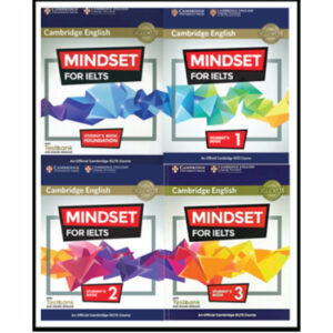 Cambridge Mindset for IELTS Full set 4 Books