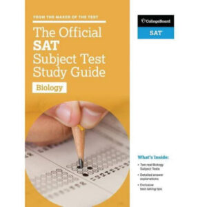 The Official SAT Subject Test in Biology
