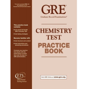 ETS GRE Chemistry Test Practice Book