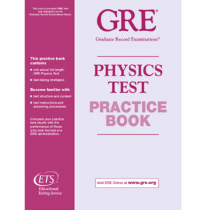 ETS GRE Physics Test Practice Book