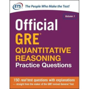 Official GRE Quantitative Reasoning Practice Questions 2nd Edition by Educational Testing Service (Author)