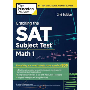 The Princeton Review SAT Subject test Math 1