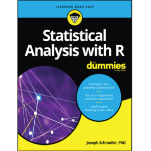 Statistical Analysis with R For Dummies Joseph Schmuller 10/15 Size