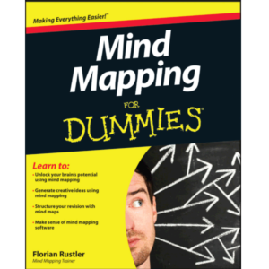 Mind Mapping For Dummies Florian Rustler, Tony Buzan 10/15 Size